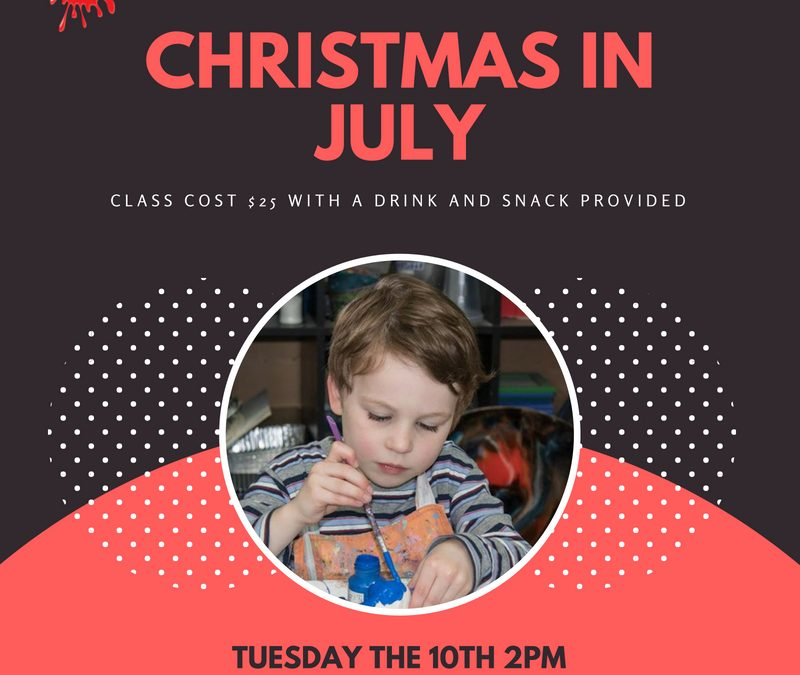 Christmas in July – Festive Clay Fun